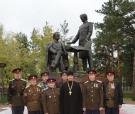 Состоялось открытие памятника Чокану Валиханову и Григорию Потанину