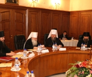 Епископ Варнава принял участие в совместном заседании Синодов Среднеазиатского и Казахстанского Митрополичьих Округов