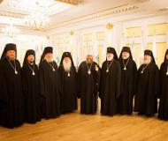 Епископ Павлодарский и Экибастузский Варнава принял участие в заседании Синода Казахстанского Митрополичьего Округа в Астане